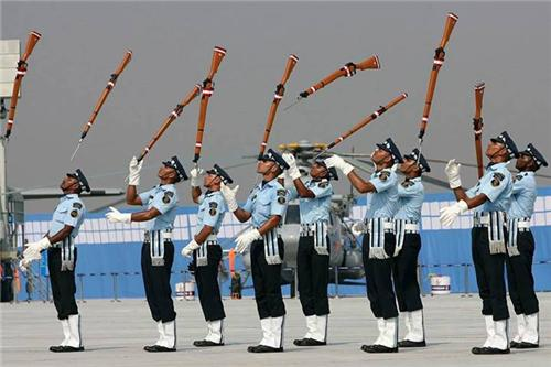 Indian air force parade 2019 Hindan