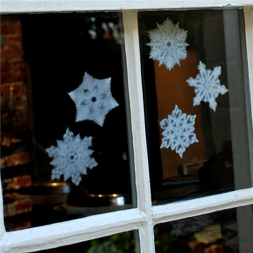 Snowflakes as Christmas Decorations