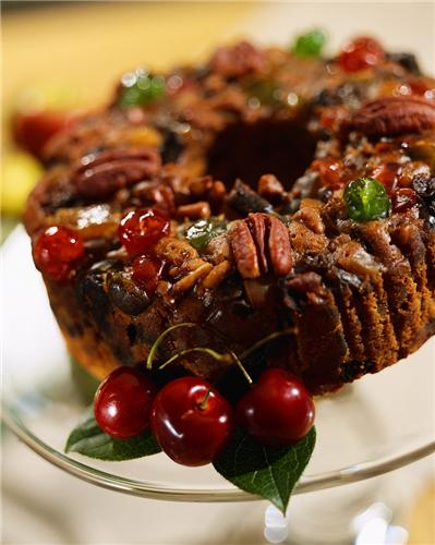 Fruit Cake for Christmas Dessert