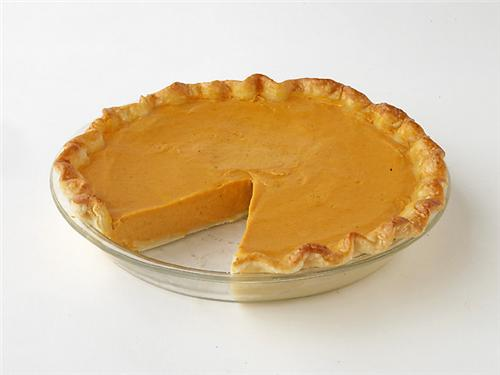Pumpkin Pie for Christmas Dessert