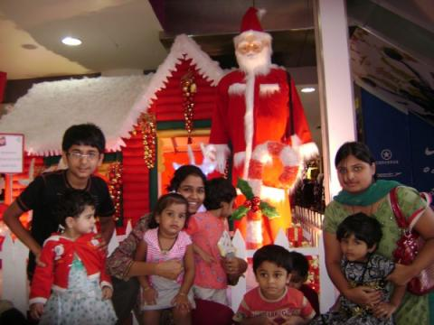 Christmas Hyderabad City