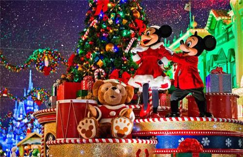 Christmas Celebrations in Disney World