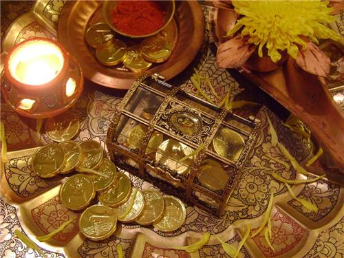 Gold on Dhanteras