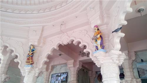 Interiors of Gogaji Maharaj Temple