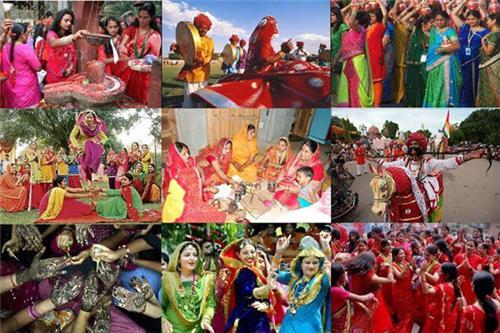 Hariyali Teej Celebrations