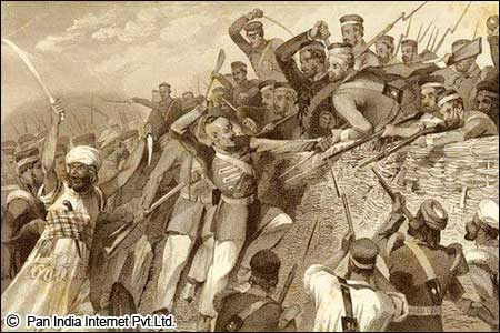 Major Events in Revolt of 1857
