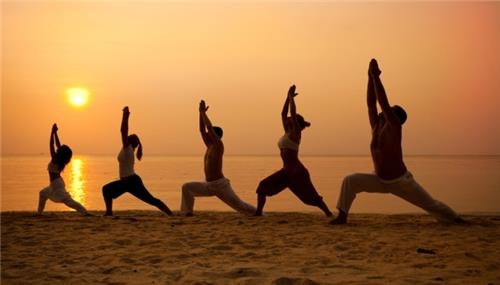 Yoga was invented in India