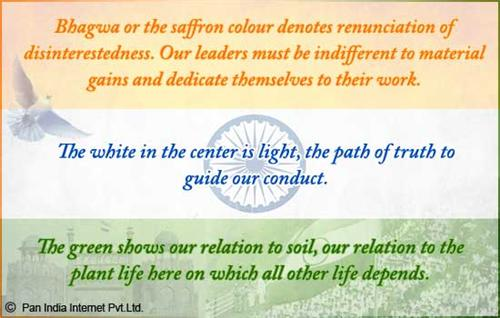 Meaning of Tricolor and Chakra in the Indian National Flag