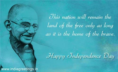 Quotes of Famous People on Independence