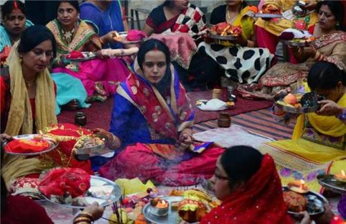 Udhypan Puja Karva Chauth