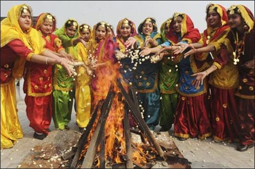 Lohri Bonfire 2016