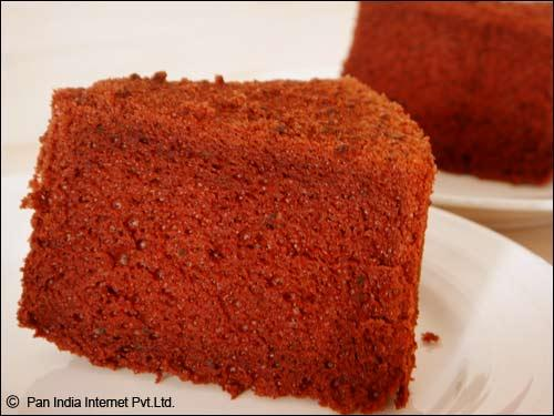 Choxolate Chiffon Cake for Mother's Day