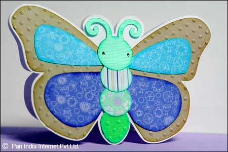 How to Make Butterfly Card