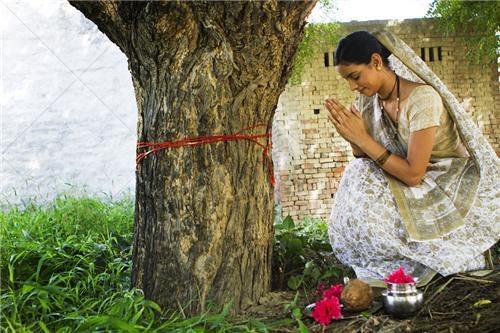 Peepal Tree Worship on Somvati Amavasya