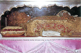 Body of St. Francis Xavier
