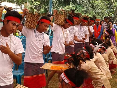 100 Drum Festival in Meghalaya