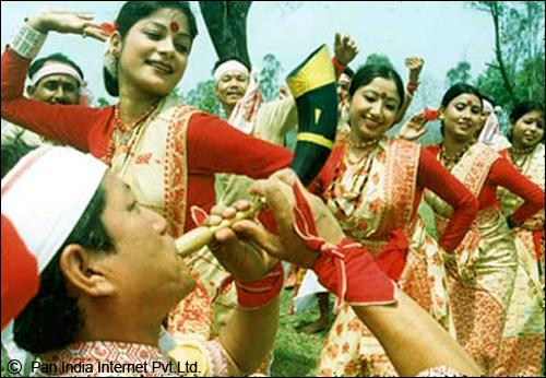 Bhogal Bihu Dance