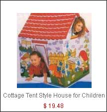 Kid s Cottage Tent