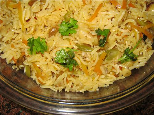 Veg Biryani for Diwali