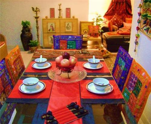 Traditional Indian Style Decor for Diwali