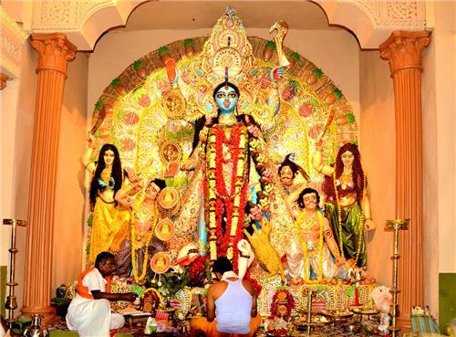 Kali Puja on Diwali