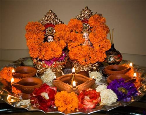 Diwali Pooja Process