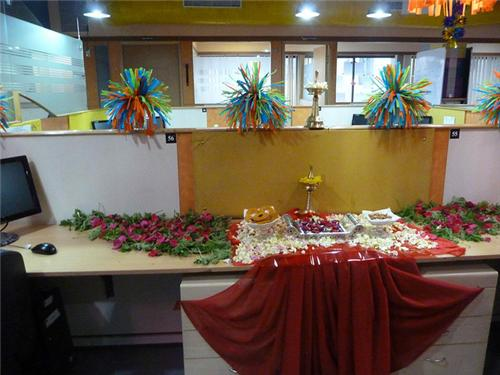 diwali celebrations at work place