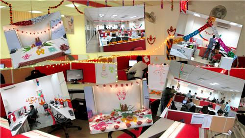 Diwali in office