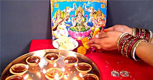 Virtual Puja Diwali