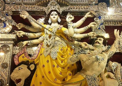 Victory of Durga Over Mahishasur