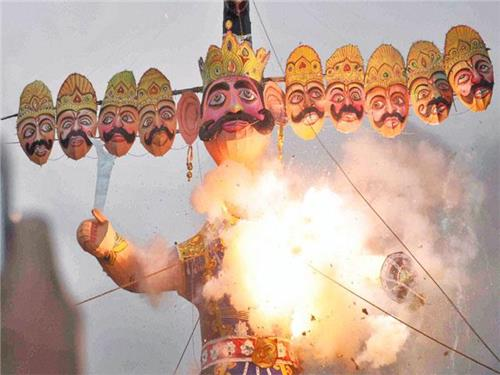 Vijaya Dashmi Celebrations in India