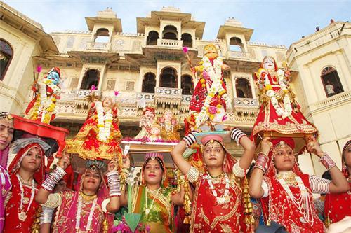 Gangaur in Udaipur