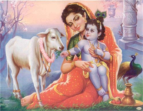 Govardhan Puja with Lord Krishna