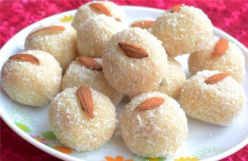 Coconut Laddoos Recipe