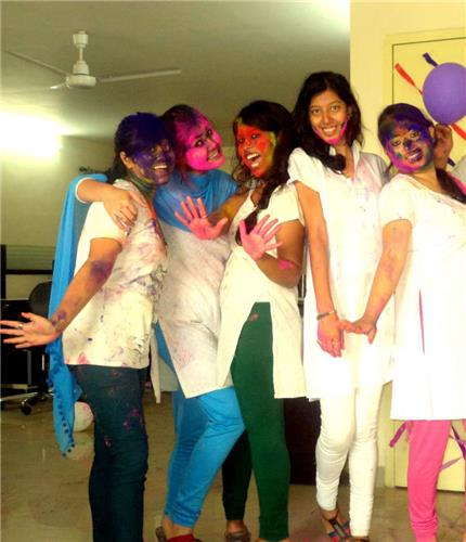 Holi in Offices