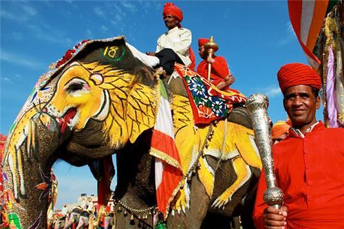 Elephant Festival in Jaipur