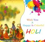 Colourful Holi Wishes Greetings