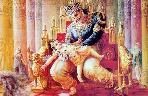 King Hiranyakashap