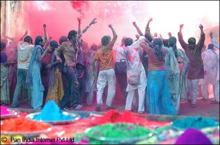 Holi In Gujarat