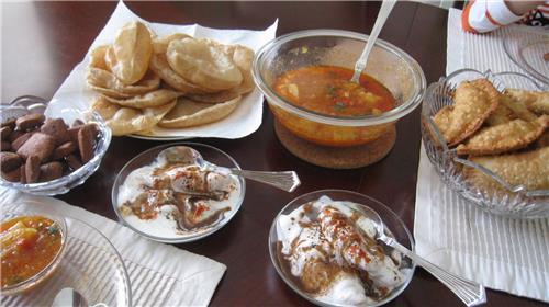 Holi Delicacies