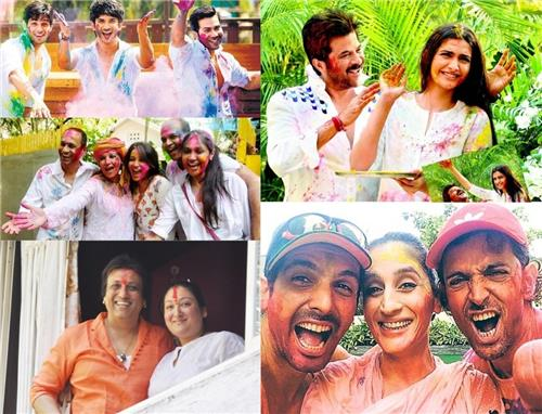 Bollywood Celebrating Holi