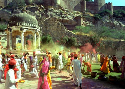 Holi Festival in Jaipur
