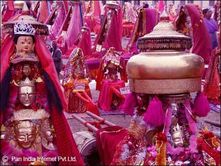 Mahashivratri celebrations at Mandi