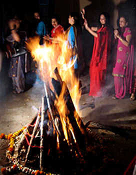 Lohri and Makar Sankranti Celebrations in Jammu & Kashmir