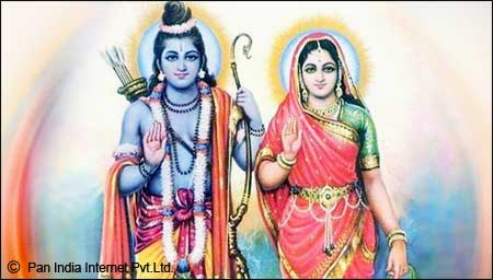 Lord Ram and Goddess Seeta