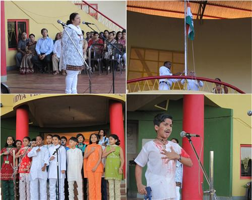 Republic Day Function in School