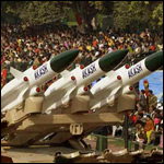Akash Missiles on Disply