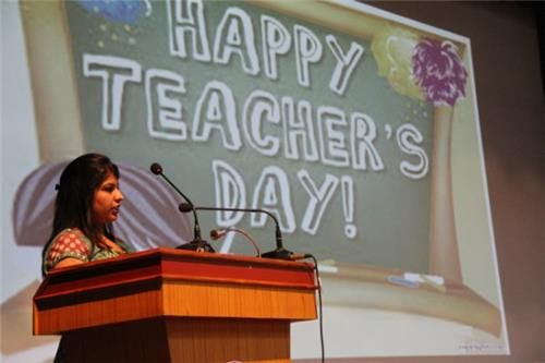 Teachers Day in Schools
