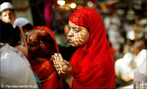 Girl Offering Prayers
