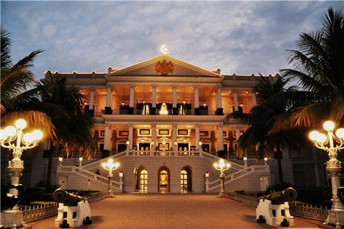 Taj Falaknuma Palace Hotel in Hyderabad